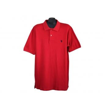 Мужское красное поло U.S. POLO ASSN, XL