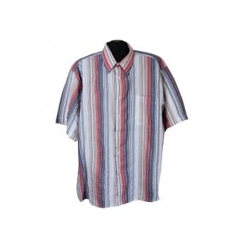 Рубашка мужская в полоску RICK ARMAND, XXL
