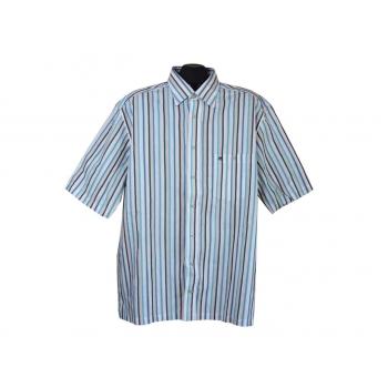 Рубашка мужская белая в полоску CASA MODA, XL