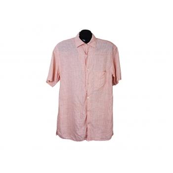 Рубашка льняная мужская в полоску GERANI, L
