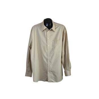 Рубашка мужская бежевая WALBUSCH EXTRAGLATT, XXL