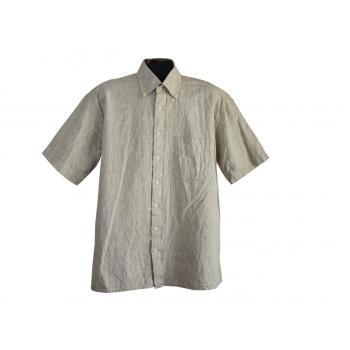Рубашка мужская льняная VIA CORTESA, L