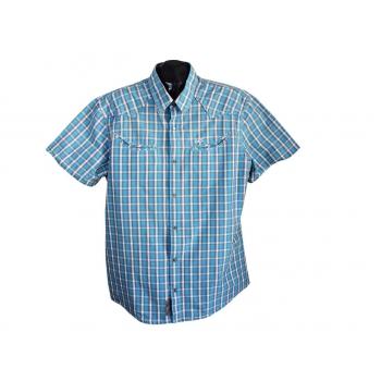 Рубашка мужская в клетку QS, XL