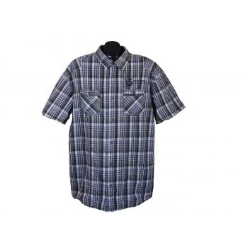 Мужская рубашка в клетку ANGELO LITRICO DEPT 05 RS, XXL