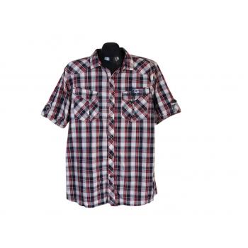 Рубашка мужская в клетку TENSON, XL