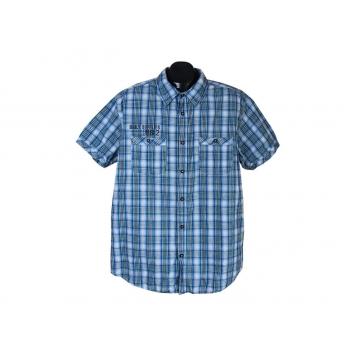 Рубашка мужская в клетку ANGELO LITRICO DAILY SUPPLIES, XL