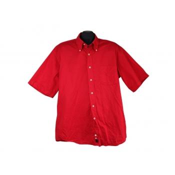 Рубашка мужская красная DANIEL HECHTER, XL