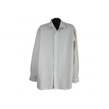 Рубашка мужская бежевая ETERNA EXCELLENT, XL