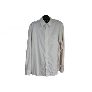 Рубашка мужская льняная ANGELO LITRICO, XXL