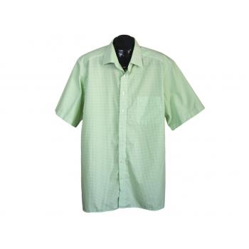 Рубашка мужская зеленая OLYMP, XXL