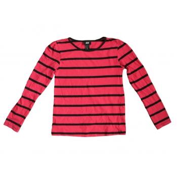 Детская красная кофта в полоску H&M для девочки 5-7 лет