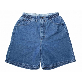 Женские синие джинсовые шорты с высокой талией LEE, XS