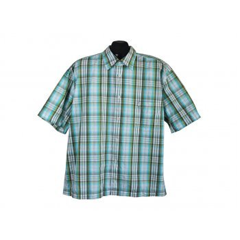 Рубашка мужская в клетку EINHORN, XXL