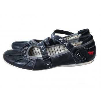 Туфли женские кожаные MUSTANG 41 размер