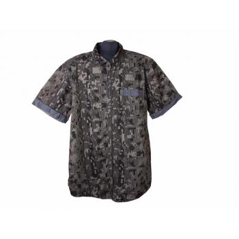Рубашка мужская коричневая CRAFTED GOODS ANGELO LITRICO, XXL