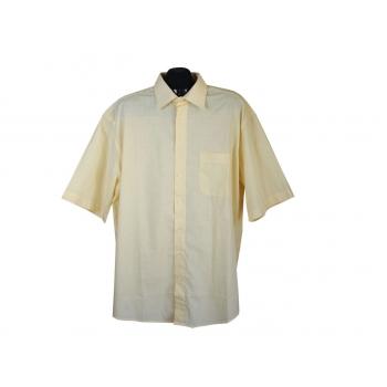 Рубашка мужская желтая HENRY MORELL, XXL
