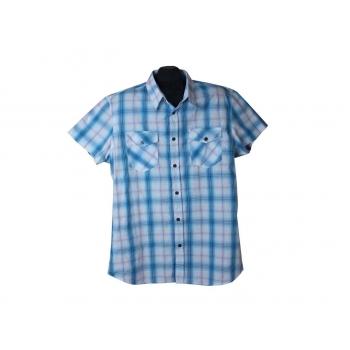 Рубашка мужская в клетку SMOG, XL
