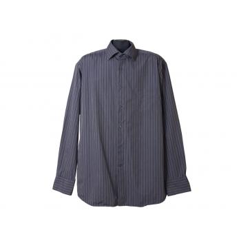 Мужская серая рубашка в полоску STOCKMANN, XL