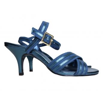 Женские синие босоножки MARКS & SPENCER 37 размер