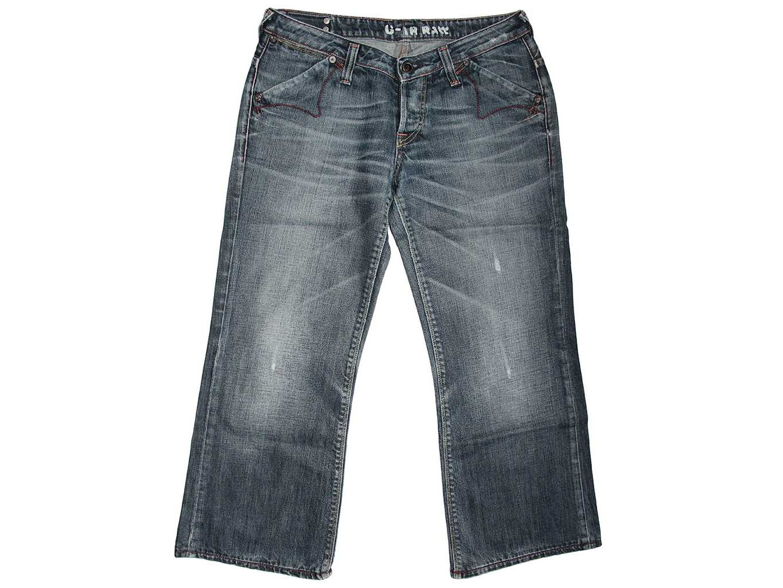 Женские прямые широкие джинсы G-STAR RAW, L