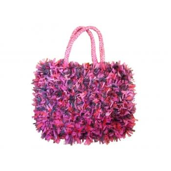 Женская цветная пляжная сумочка