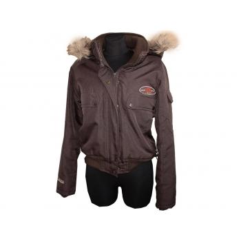 Женская коричневая демисезонная куртка VERO MODA