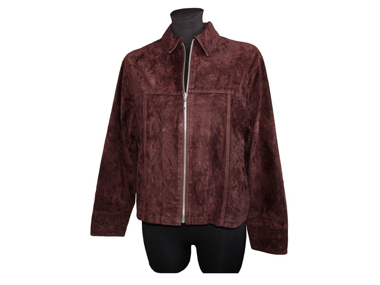Женская коричневая куртка весна осень V&D, XL