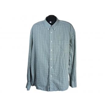 Рубашка мужская в клетку BLUE HARBOUR MARKS & SPENCER, XXL