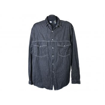 Джинсовая рубашка мужская REINE, XL