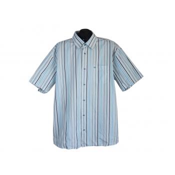 Рубашка мужская белая в полоску TOM TAILOR, 3XL