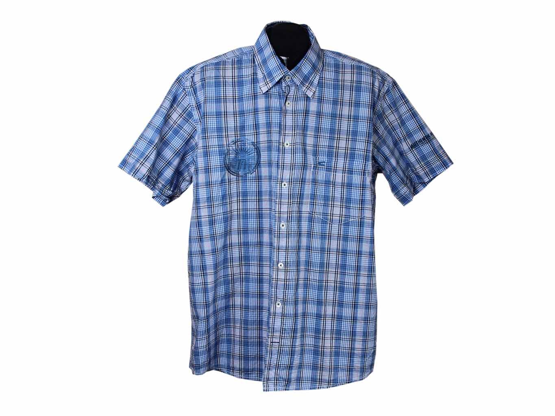 hot sales sale usa online large discount Рубашка мужская в клетку, с коротким рукавом CAMEL ACTIVE ...