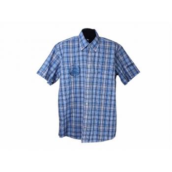 Рубашка мужская синяя в клетку CAMEL ACTIVE, XL