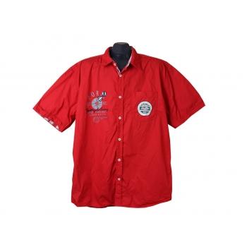 Рубашка мужская красная TOM TAILOR, XL