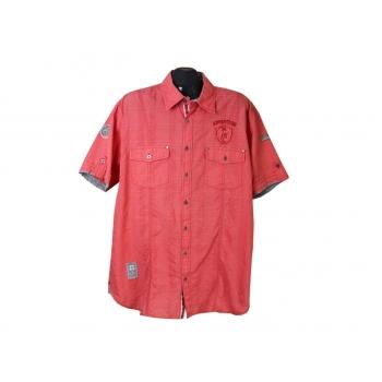 Рубашка мужская красная ENGBERS, XL