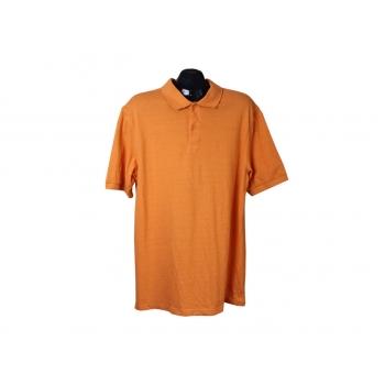Поло мужское оранжевое DRESSMANN, L