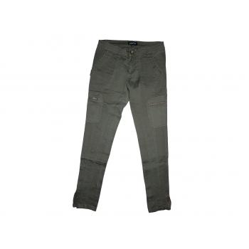 Женские зеленые узкие джинсы PAPAYA, S