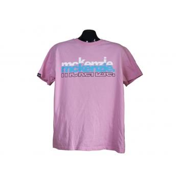 Мужская футболка розового цвета McKENZIE
