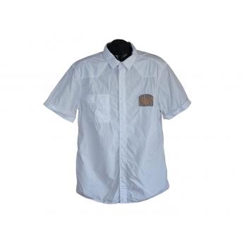 Рубашка мужская белая EDC, L
