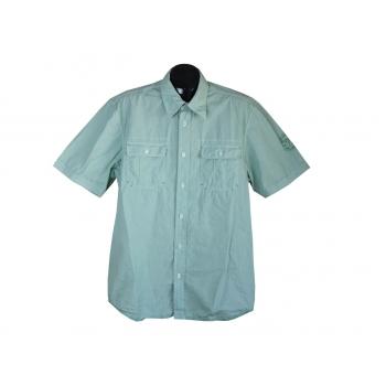 Рубашка мужская зеленая LERROS, L
