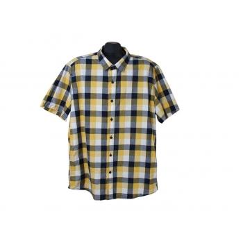Рубашка мужская в клетку JEAN PASCALE, XL