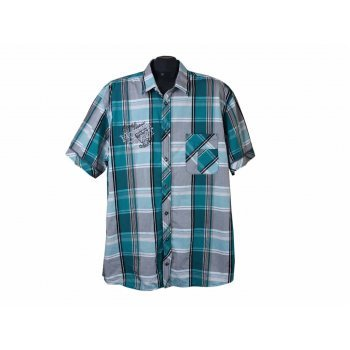 Рубашка мужская в клетку BONITA MEN, XXL