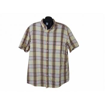 Рубашка льняная мужская в клетку BIAGGINI, XXL