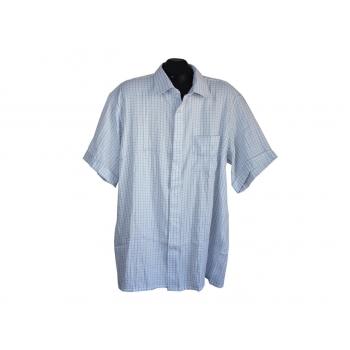 Рубашка мужская белая в клетку J.EXPLORER, XXL