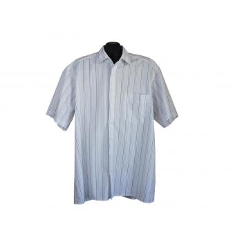 Рубашка мужская белая в полоску LUXOR OLYMP, XXL