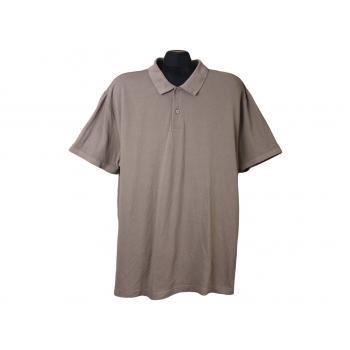 Поло мужское коричневое L.O.G.G. by H&M, XXL