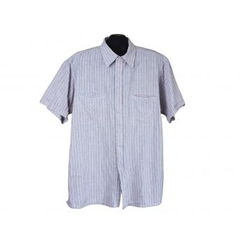 Рубашка из льна мужская ATLANT, XL