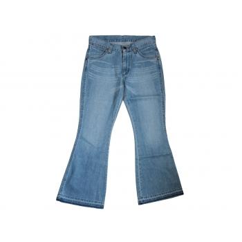 Женские голубые джинсы клеш WRANGLER