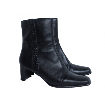 Женские кожаные полусапоги 38 размер