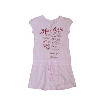 Розовое платье L.O.G.G. для девочки 7-9 лет