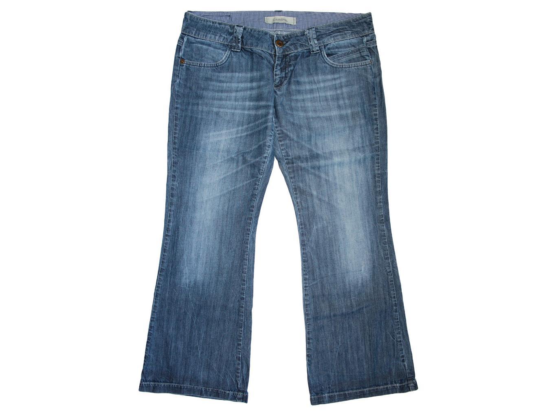 Женские широкие джинсы батал CARS, XXL